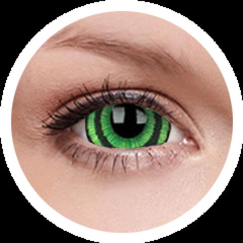 MaxVue Vision ColourVUE - Green Goblin 2 čočky - crazy čočky