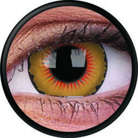 MaxVue Vision ColourVUE - Solarr 2 čočky - crazy čočky