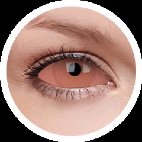 MaxVue Vision ColourVUE - Caliban - sclera | půlroční 2 čočky - crazy čočky