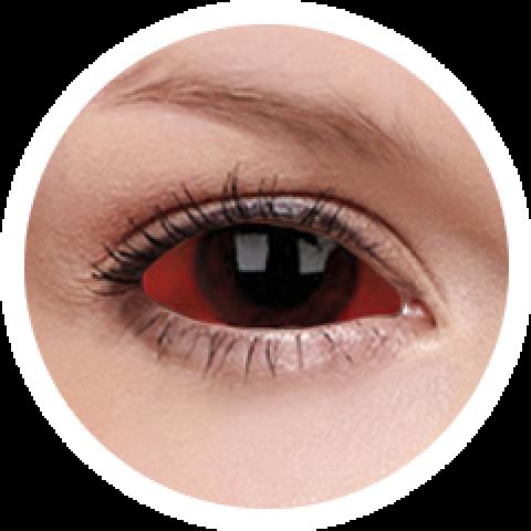 MaxVue Vision ColourVUE - Carnage - sclera | půlroční 2 čočky - crazy čočky