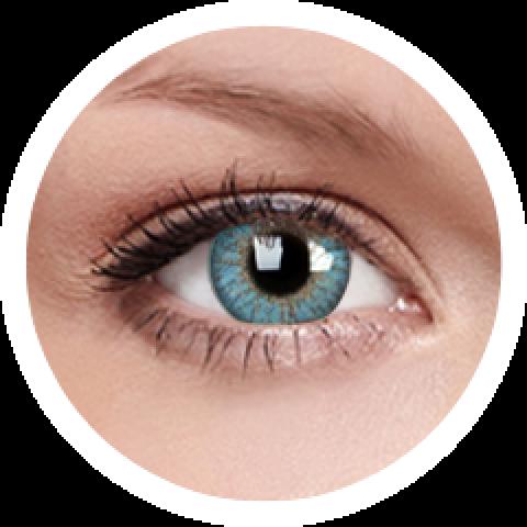 MaxVue Vision ColourVUE - One day - Trublends Aqua | 5 párů 2 čočky - barevní čočky