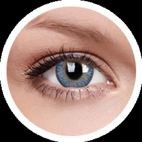 MaxVue Vision ColourVUE - One day - Trublends Blue | 5 párů 2 čočky - barevní čočky