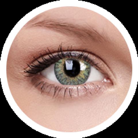 MaxVue Vision ColourVUE - One day - Trublends Green | 5 párů 2 čočky - barevní čočky