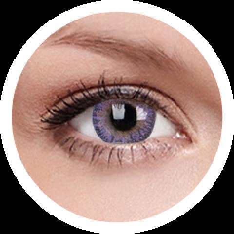 MaxVue Vision ColourVUE - One day - Trublends Violet | 5 párů | jednodenní 2 čočky - barevní čočky