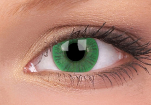 MaxVue Vision ColourVUE - Basic Green | čtvrtletní 2 čočky - barevní čočky
