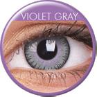 MaxVue Vision ColourVUE - Fusion - Violet Gray | čtvrtletní 2 čočky - barevní čočky