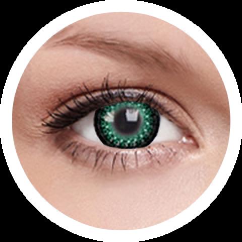MaxVue Vision ColourVUE - Eyelush Green | čtvrtletní 2 čočky - barevní čočky