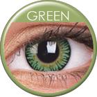 MaxVue Vision ColourVUE - 3-Tones - Green | čtvrtletní 2 čočky - barevní čočky