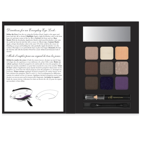 e.l.f. Essential Holiday Eyeshadow Book Everyday