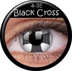 MaxVue Vision ColourVUE - Black Cross 2 čočky - crazy čočky