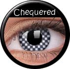 MaxVue Vision ColourVUE - Chequered 2 čočky - crazy čočky