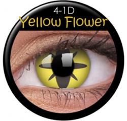 MaxVue Vision ColourVUE - Yellow Flower 2 čočky - crazy čočky